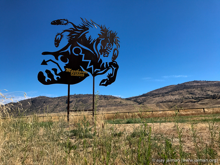 Skirted a Native American reservation. Lovely art. Photo Credit: Ajay Jaiman