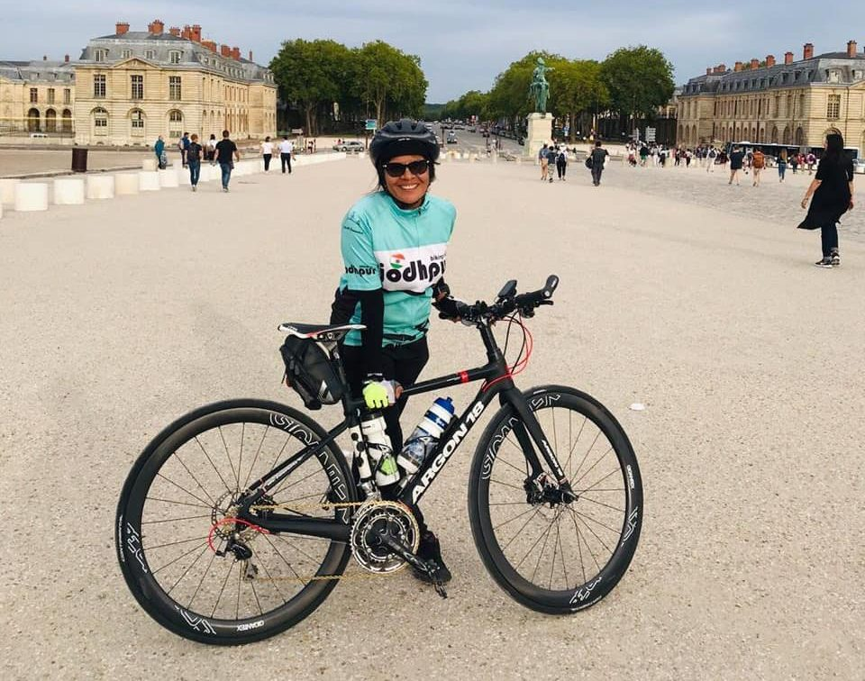 Renu Singhi Completes the Gruelling 1200km Paris-Brest-Paris Ride at 54!