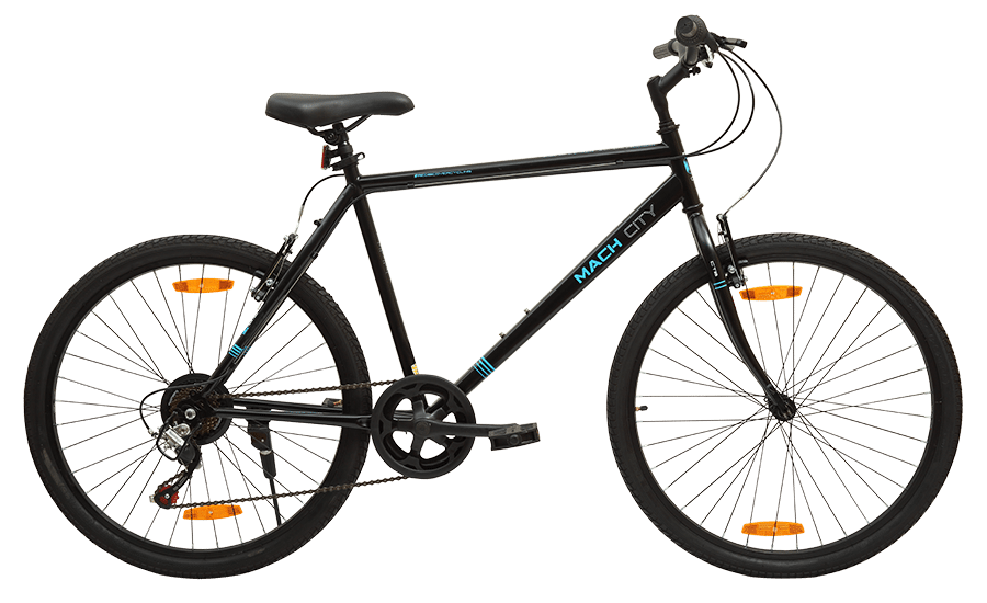 Mach City iBike 7 speed Hybrid Cycle