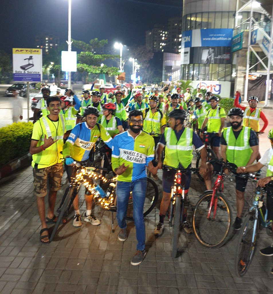 Wheels and barrels cycling group india