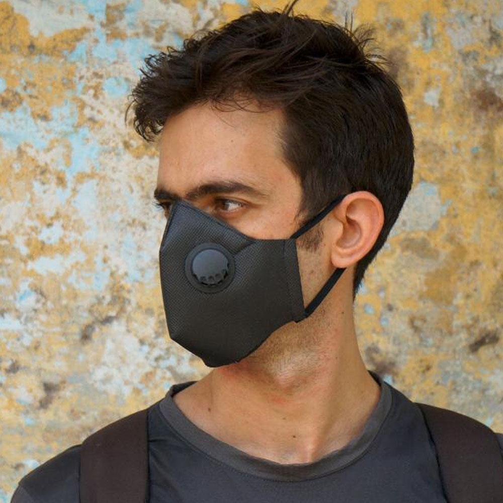 anti pollution mask with valves