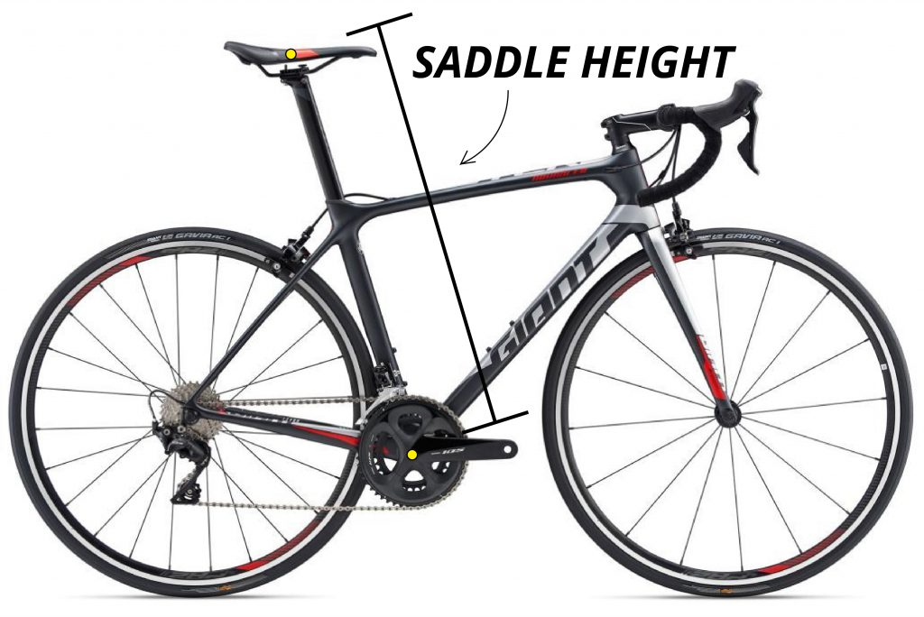 saddle height in bike fit