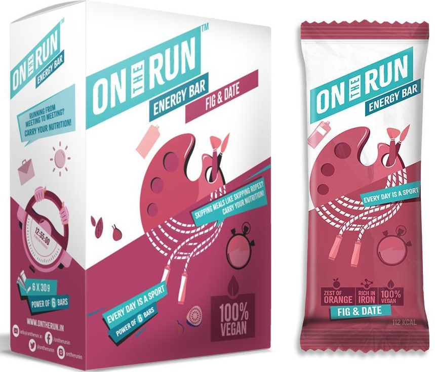 on the run nutrition bars (cycling)