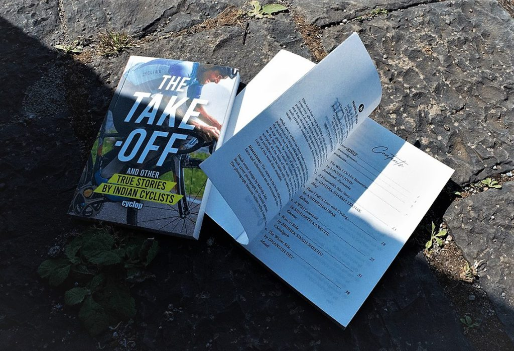 the take off contents page and cover